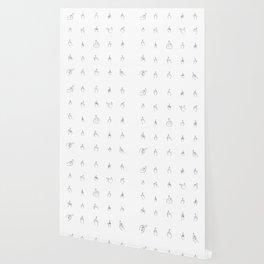 Black Middle Fingers Wallpaper