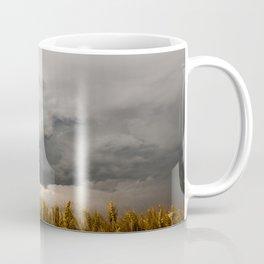 Marshmallow - Storm Cloud Over Golden Wheat in Kansas Coffee Mug