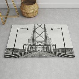 MacDonald Bridge Symmetry Rug
