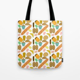 Patisseries de France French Pastries and Breads Tote Bag