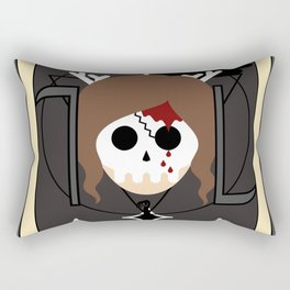 Death (Tarot Card II) Rectangular Pillow