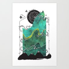 Northern Nightsky Art Print