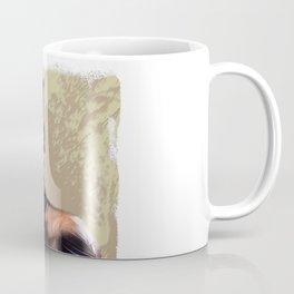 Okapi  with Red Bow Coffee Mug