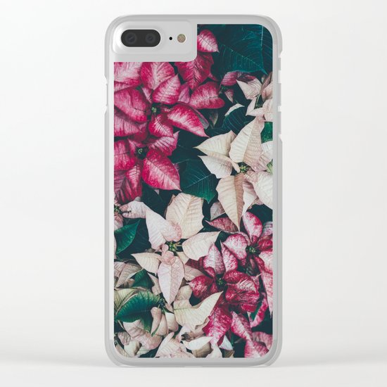 Botanical Beauty Clear iPhone Case