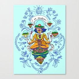 Lakshmi Goddess of Wealth Canvas Print