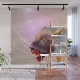 Feast of the Low Poly Lion Pride Wall Mural