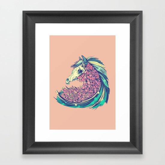 Beautiful Horse Framed Art Print