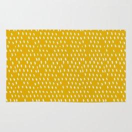 Yellow Modernist Rug