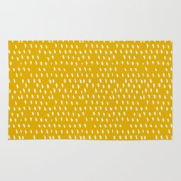 Yellow Modernist Rug
