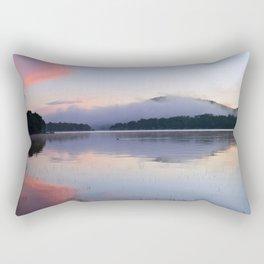 Tranquil Morning in the Adirondacks Rectangular Pillow