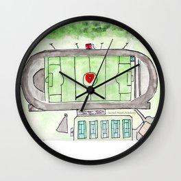 Sacred Heart Academy Field, Louisville, KY Wall Clock