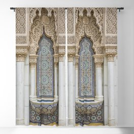 Moroccan Fountain Blackout Curtain