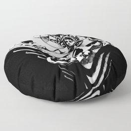 The Queen of Spades Floor Pillow