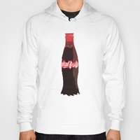 coke Hoodies featuring Coke-Man by colleencunha