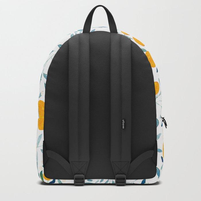Orange Tree Backpack