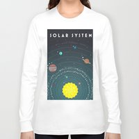 solar system Long Sleeve T-shirts featuring Solar System by scarriebarrie