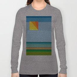 """Moment #13"" Montana Gold Spray Paint on Birch Panel 14″ x 14″ x 1.5"" *Original Sold Long Sleeve T-shirt"