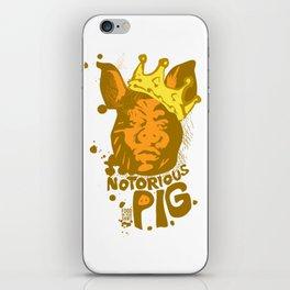 Notorious PIG iPhone Skin
