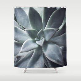 A Succulent Life Shower Curtain