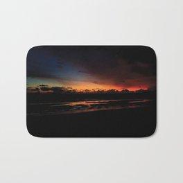 Dark Sunset Bath Mat