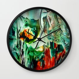 BushFire Wall Clock