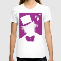 willy wonka T-shirts featuring Willy Wonka Tribute Poster by stefano manca