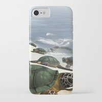 turtles iPhone & iPod Cases featuring Turtles by nicky2342