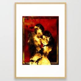 Flammis Amoris Framed Art Print