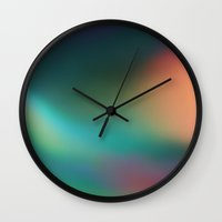 verse Wall Clocks featuring The Verse by TRUANGLES