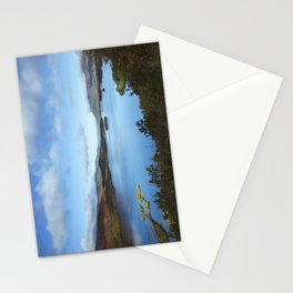 View over Derwent Water to Keswick. Lake District, UK. Stationery Cards