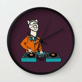 Flock of Gerrys Llama is my DJ Wall Clock