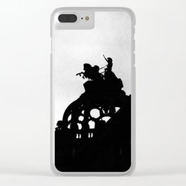 London 2 Clear iPhone Case
