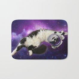 Space Cat in Space Bath Mat