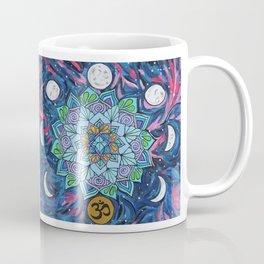 Om Moon Phase Mandala Coffee Mug