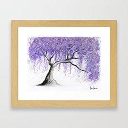 Sumptuous Shade Tree Framed Art Print