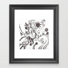 Mundo Sumergido Framed Art Print