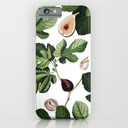 Figs White iPhone Case