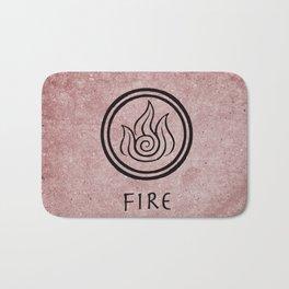Avatar Last Airbender Elements - Fire Bath Mat