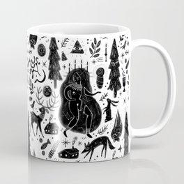 Yule, Birth of the Sun - Black Coffee Mug