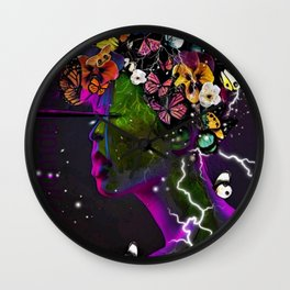 Release of Doubt Wall Clock