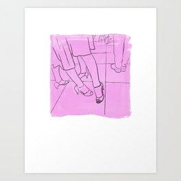 Two Tangueras Art Print