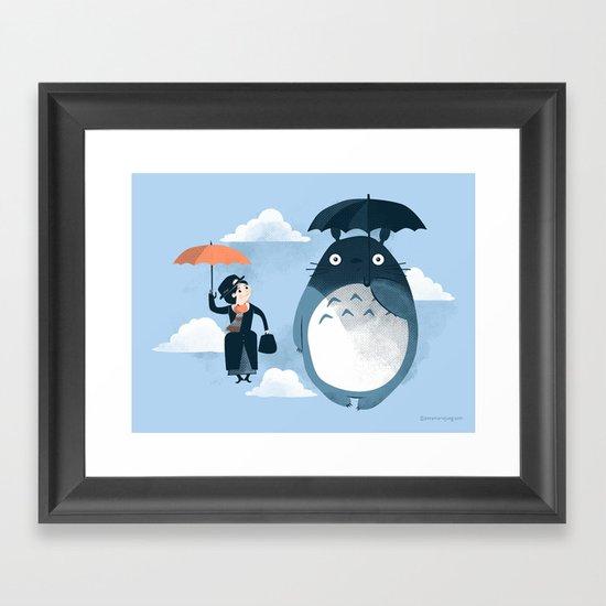 The Perfect Neighbor Framed Art Print