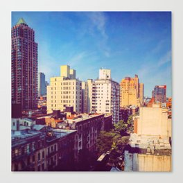 Morning in NYC Canvas Print