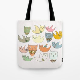 Owlz Tote Bag