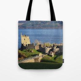 Urquhart Castle - Scotland Tote Bag