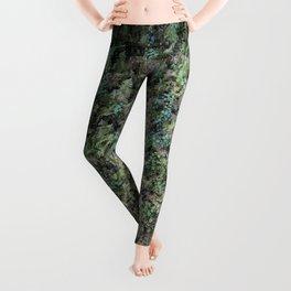 Deep into the Forest (moss, green grass) Leggings
