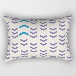 Break the pattern | light Rectangular Pillow