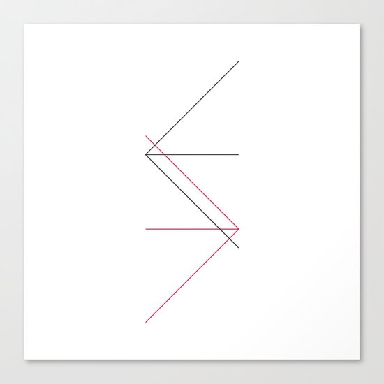 #309 Directions – Geometry Daily Canvas Print