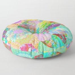 Rainbow Mandala Magic Floor Pillow
