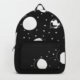 Wonder If - Moon Phase Illustration Backpack